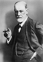 0015415 © Granger - Historical Picture ArchiveSIGMUND FREUD (1856-1939).   Austrian neurologist and founder of psychoanalysis. Photographed by Max Halberstadt, 1921.