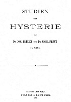 0043301 © Granger - Historical Picture ArchiveFREUD: HYSTERIA, 1895.  Austrian neurologist. Title page of the first edition, 1895, of 'Studies on Hysteria' by Joseph Breuer and Sigmund Freud.