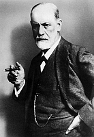 0060358 © Granger - Historical Picture ArchiveSIGMUND FREUD (1856-1939).   Austrian neurologist and founder of psychoanalysis. Photographed in 1921 by Max Halberstadt.