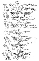 0066344 © Granger - Historical Picture ArchiveSIGMUND FREUD: DIARY, 1936.   Page from Freud's abbreviated diary recording events from the second half of 1936.
