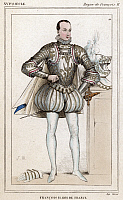 0060387 © Granger - Historical Picture ArchiveFRANCIS II (1544-1560).   King of France, 1559-60. Color etching, French, 19th century.