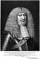 0069067 © Granger - Historical Picture ArchiveFREDERICK WILLIAM (1620-1688).   'The Great Elector' of Brandenburg, 1640-1688. Line engraving, German, 19th century.