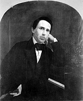 0004140 © Granger - Historical Picture ArchiveSTEPHEN COLLINS FOSTER (1826-1864).   American composer. Painting by George L. Clough (1824-1901).
