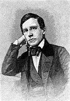 0014298 © Granger - Historical Picture ArchiveSTEPHEN COLLINS FOSTER (1826-1864).   American composer. Wood engraving, 1881, after the painting by George L. Clough.