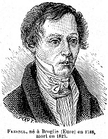 0069333 © Granger - Historical Picture ArchiveAUGUSTIN FRESNEL (1788-1827).   Augustin Jean Fresnel. French physicist. Wood engraving, French, 19th century.