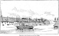 0069746 © Granger - Historical Picture ArchiveROBERT FULTON'S CLERMONT.   Robert Fulton's steamboat, 'Clermont,' built in 1807. Wood engraving, 19th century.