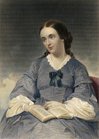 0009142 © Granger - Historical Picture ArchiveMARGARET FULLER (1810-1850).   American critic and social reformer. Steel engraving, American, 19th century, after a painting by Alonzo Chappel.