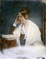 0061801 © Granger - Historical Picture ArchiveMARGARET FULLER (1810-1850).   American critic and social reformer. Oil over a daguerreotype, 1846.