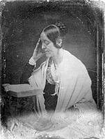 0064517 © Granger - Historical Picture ArchiveMARGARET FULLER (1810-1850).   American critic and reformer. Daguerreotype, 1846.