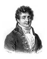0037883 © Granger - Historical Picture ArchiveJOSEPH FOURIER (1768-1830).   Baron Jean Baptiste Joseph Fourier. French geometer and physicist. Line engraving, French 19th century.