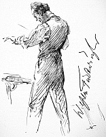 0036337 © Granger - Historical Picture ArchiveWILHELM FURTWAENGLER (1886-1954). German conductor. Pencil drawing, c1935, by Hilda Wiener.