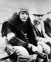 0034394 © Granger - Historical Picture ArchiveHAROLD (RED) GRANGE   (1903-1991). American football player.