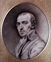 0049616 © Granger - Historical Picture ArchiveJAMES GILLRAY (1756-1815).   English caricaturist. Miniature attributed to himself.