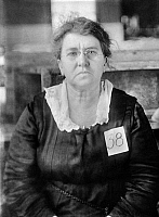 0005937 © Granger - Historical Picture ArchiveEMMA GOLDMAN (1869-1940).   American (Lithuanian-born) anarchist. Photographed at the time of her deportation from the United States in 1919.