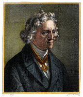 0057370 © Granger - Historical Picture ArchiveJACOB GRIMM (1785-1863).   German philologist and folklorist. Steel engraving, 19th century, after a painting by Karl Begas.