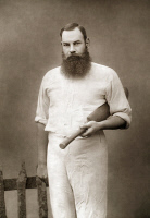 0051662 © Granger - Historical Picture ArchiveWILLIAM GILBERT GRACE   (1848-1915). English cricketer. Photographed in 1888.