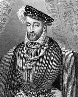 0031164 © Granger - Historical Picture ArchiveHENRY II (1519-1559).   King of France, 1547-1559. Steel engraving, French, 1838.