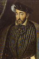 0034859 © Granger - Historical Picture ArchiveHENRY II (1519-1559).   King of France, 1547-1559. Oil from Chenonceau.