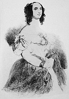 0069544 © Granger - Historical Picture ArchiveADELE FOUCHER HUGO   (1804-1868). Wife of Victor Hugo. Etching by Celestin Nanteuil after Louis Boulanger.