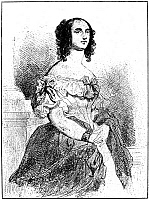 0069545 © Granger - Historical Picture ArchiveADELE FOUCHER HUGO   (1804-1868). Wife of Victor Hugo. Etching by Celestin Nanteuil after Louis Boulanger.