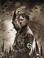 0007465 © Granger - Historical Picture ArchiveADOLF HITLER (1889-1945).   German politician and Fuhrer. Illustration, 1933, by Theodor Matejko.