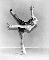 0035548 © Granger - Historical Picture ArchiveSONJA HENIE (1912-1969).   Norwegian figure skater and actress. Photographed in 1945.
