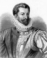 0065117 © Granger - Historical Picture ArchiveHENRI I, DUC DE GUISE   (1550-1588). Henri I of Lorraine, 3rd Duke of Guise, known as 'le Balafré,' the Scarred. Steel engraving, French, 19th century.
