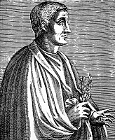 0046002 © Granger - Historical Picture ArchiveHORACE (65-8 B.C.).   Quintus Horatius Flaccus. Roman poet and satirist. Line engraving, French, 1584.