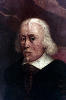 0020588 © Granger - Historical Picture ArchiveWILLIAM HARVEY (1578-1657).   English physician and anatomist. Detail of an oil on canvas painting, 17th century.