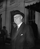 0184344 © Granger - Historical Picture ArchiveJOSEPH KENNEDY (1888-1969).  American businessman, financier, and government official, father of president John F. Kennedy. Photographed as U.S. Ambassador to Great Britain, 1939.