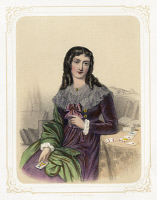 0526739 © Granger - Historical Picture ArchiveMARIE ANNE LENORMAND   (1772-1843). French fortune teller. Chromolithograph from a drawing by Jules Champagne, 1857.
