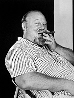 0041178 © Granger - Historical Picture ArchiveBURL IVES (1909-1995).   American actor and ballad singer. Photographed in 1956.