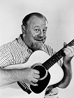 0041179 © Granger - Historical Picture ArchiveBURL IVES (1909-1995).   American actor and ballad singer. Photographed in 1956.