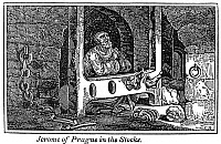 0047130 © Granger - Historical Picture ArchiveJEROME OF PRAGUE   (1360-1416). Bohemian religious reformer. Wood engraving, from an 1832 American edition of John Foxe's 'Book of Martyrs.'