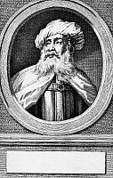 0029828 © Granger - Historical Picture ArchiveFLAVIUS JOSEPHUS (37-100).   Jewish historian and general. Etching, 19th century.