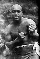 0123753 © Granger - Historical Picture ArchiveJACK JOHNSON (1878-1946).   American heavyweight pugilist. Photographed c1910-1915.