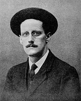 0017173 © Granger - Historical Picture ArchiveJAMES JOYCE (1882-1941).   Irish writer. Photographed in Trieste, Italy, c1912.