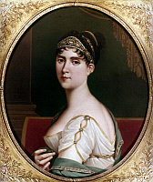 0018843 © Granger - Historical Picture ArchiveJOSEPHINE de BEAUHARNAIS   (1763-1814). Empress of the French, 1804-1809; first wife of Napoleon I. Oil on canvas, 1806, by Robert Lefèvre. RESTRICTED OUTSIDE US.