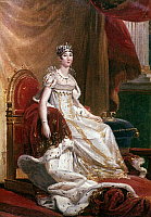 0034636 © Granger - Historical Picture ArchiveJOSEPHINE de BEAUHARNAIS   (1763-1814). Empress of the French, 1804-1809; first wife of Napoleon I. Oil on canvas, 1808, by François Gerard.