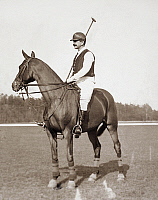 0069266 © Granger - Historical Picture ArchiveFOXHALL KEENE (1867-1941).   American polo player.