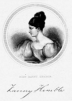0016896 © Granger - Historical Picture ArchiveFRANCES ANNE KEMBLE   (1809-1893). 'Fanny.' English actress. Line engraving, English, 19th century.