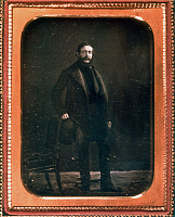 0027639 © Granger - Historical Picture ArchiveLAJOS KOSSUTH (1802-1892).   Hungarian patriot and statesman. Photographed in Cincinnati, Ohio, in 1852 during his exile in America.