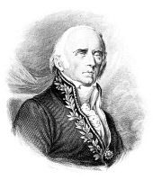 0053779 © Granger - Historical Picture ArchiveCHEVALIER DE LAMARCK   (1744-1829). Jean Baptiste Lamarck. French naturalist. Engraving after an engraving of 1824 by Ambroise Tardieu of Lamarck, when old and blind, in the costume of a member of the French Institute.