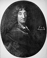 0027342 © Granger - Historical Picture ArchiveJEAN DE LA FONTAINE   (1621-1695). French fabulist. Oil on canvas by Francois de Troy.