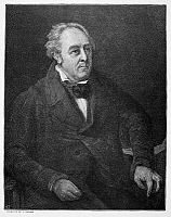0069488 © Granger - Historical Picture ArchiveWALTER SAVAGE LANDOR   (1775-1864). English writer. Line engraving after the painting, c1840, by William Fisher.