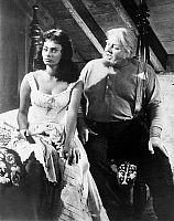 0069843 © Granger - Historical Picture ArchiveSOPHIA LOREN (1934- ).   Italian actress. With Burl Ives in a still from the film 'Desire under the Elms,' 1958.
