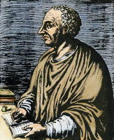0091095 © Granger - Historical Picture ArchiveLIVY (59 B.C.-17 A.D.).   Titus Livius. Roman historian. Copper engraving, French, 1584.