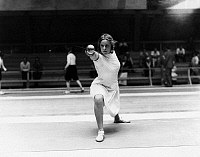 0169810 © Granger - Historical Picture ArchiveHELENE MAYER (1910-1953).   German fencer. Photographed c1932.