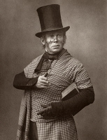 0325361 © Granger - Historical Picture ArchiveFELIX MORRIS (1845-1900).   English actor. Photographed in the role of the Scottish professor in the Broadway play, 'On Change,' 1886.
