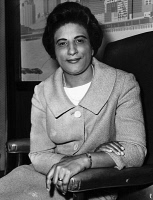 0528070 © Granger - Historical Picture ArchiveCONSTANCE BAKER MOTLEY   (1921-2005). American civil rights activist, lawyer, judge, and politician. Photograph by Fred Palumbo, April 1965.
